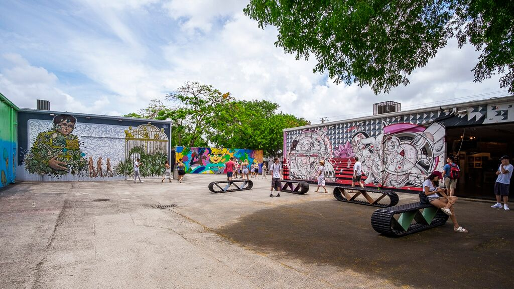 Whynwood Walls no Arts District, Miami Foto Roberto Pereira