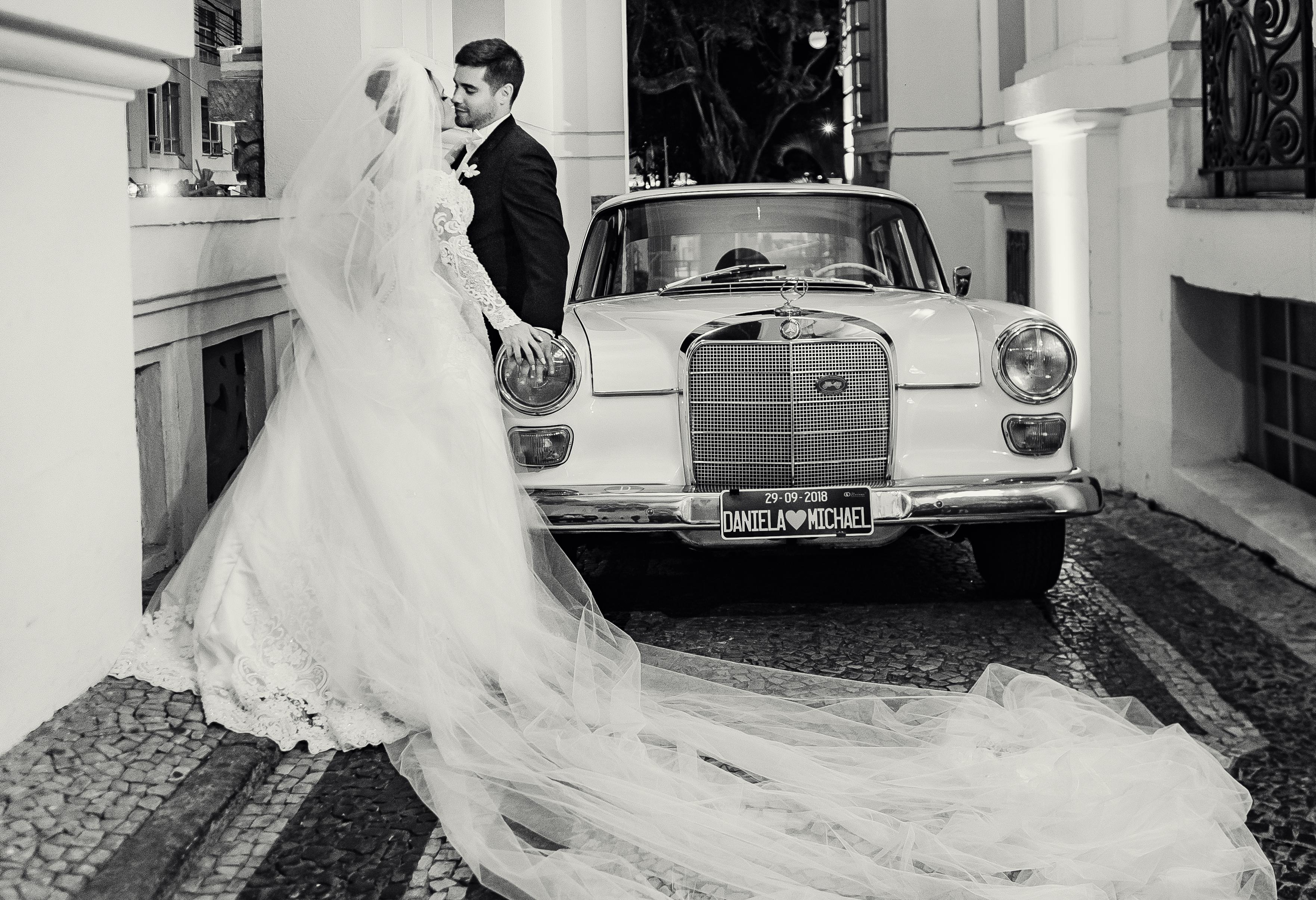 Casamento clássico: ensaio dos noivos Foto: V Rebel Cinema One