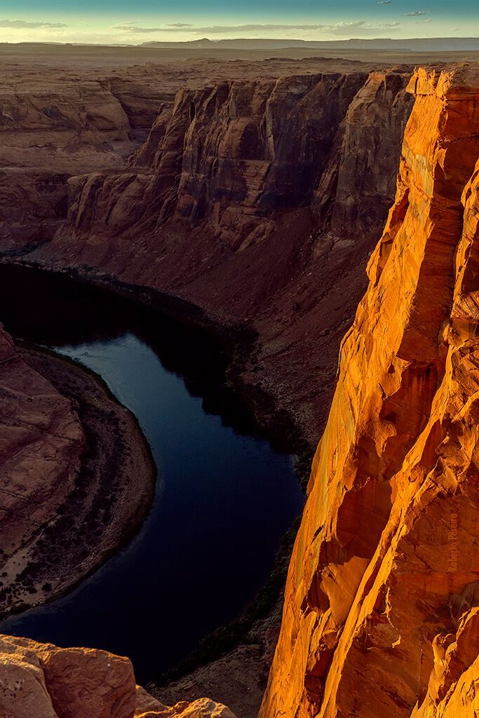 Desfiladeiro do Horseshoe Bend, Page, Arizona Foto Roberto Pereira