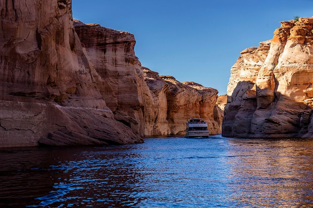 Canyon no Lake Powell, Page, Arizona Foto Roberto Pereira